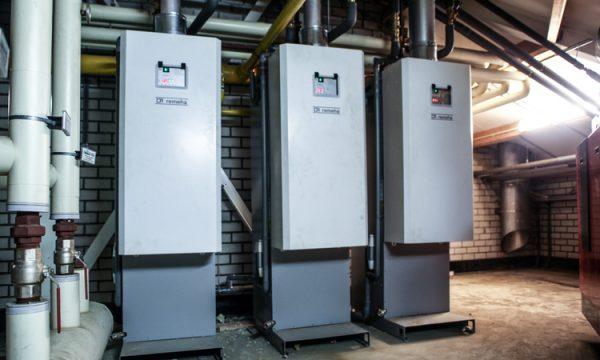 Gas installatie